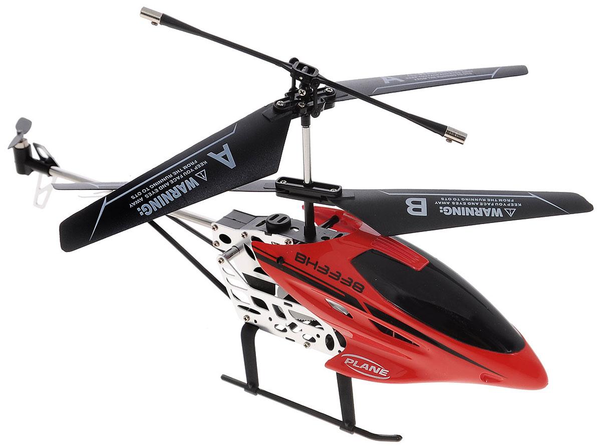 Властелин небес Вертолет на радиоуправлении Снегирь цвет красныйBH 3338_redВертолет на радиоуправлении Снегирь имеет интересный дизайн, а также хорошие характеристики. Он способен летать в трех плоскостях, развивая довольно приличную скорость. Вертолет может зависать в воздухе и поворачиваться вокруг оси. Стабильность полета ему обеспечивает встроенный гироскоп. А яркие полетные огни делают его заметным даже в темное время суток. Дальность действия пульта управления: 10 метров. Игрушка рекомендуется для полетов в закрытых помещениях. Использовать ее следует только в безветренную и сухую погоду. Пульт управления работает от 6 батареек напряжением 1,5V типа АА (не входят в комплект), вертолет работает от аккумулятора LiPol 3,7V, зарядка которого производится от пульта управления или порта USB.