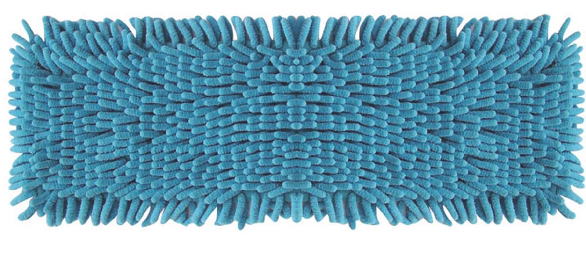 Сменная насадка к швабрам Hausmann, цвет: синий, 13 х 42 смRF-S01_синийСменная насадка к швабрам Hausmann, цвет: синий, 13 х 42 см