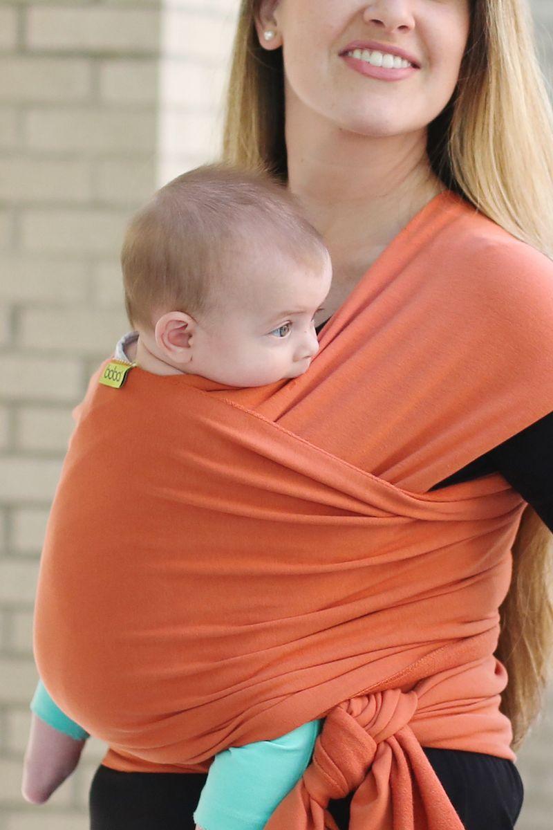Boba Трикотажный слинг-шарф Wrap Orange