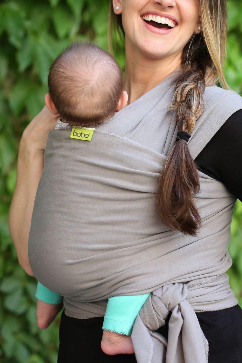 Boba Трикотажный слинг-шарф Wrap Gray