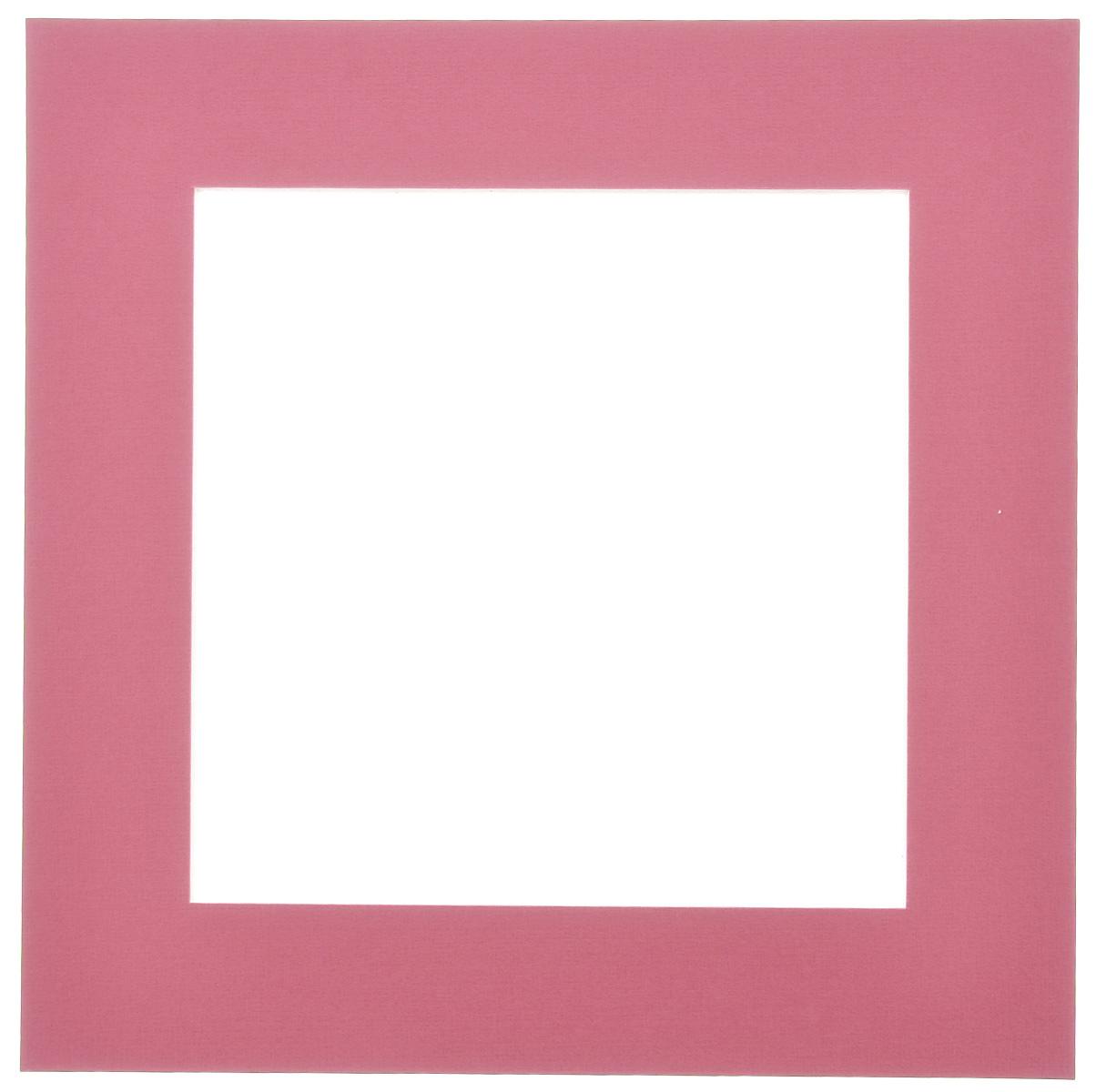 Паспарту Василиса, цвет: гранатовый, 17 см х 17 см580632Паспарту Василиса, изготовленное из плотного картона, предназначено для оформления художественных работ и фотографий. Оно располагается между багетной рамой и изображением, делая акцент на фотографии, усиливая ее визуальное восприятие. Кроме того, на паспарту часто располагают поясняющие подписи, автограф изображенного. Внешний размер: 25 см х 25 см. Внутренний размер: 17 см х 17 см.