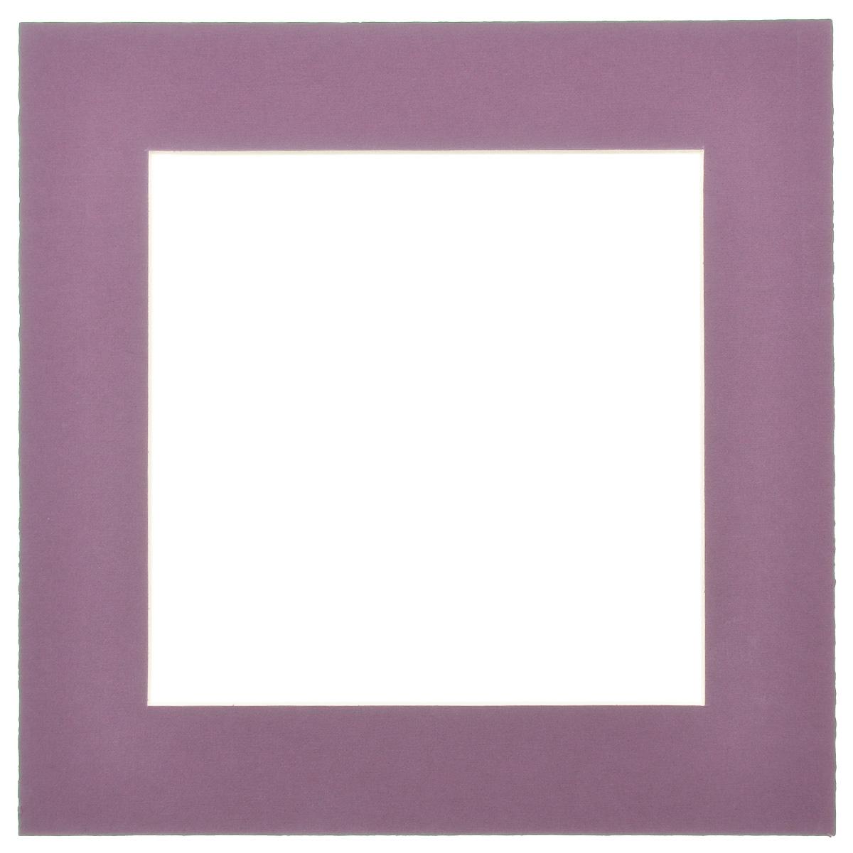 Паспарту Василиса, цвет: темно-фиолетовый, 17 см х 17 см580646Паспарту Василиса, изготовленное из плотного картона, предназначено для оформления художественных работ и фотографий. Оно располагается между багетной рамой и изображением, делая акцент на фотографии, усиливая ее визуальное восприятие. Кроме того, на паспарту часто располагают поясняющие подписи, автограф изображенного. Внешний размер: 25 см х 25 см. Внутренний размер: 17 см х 17 см.