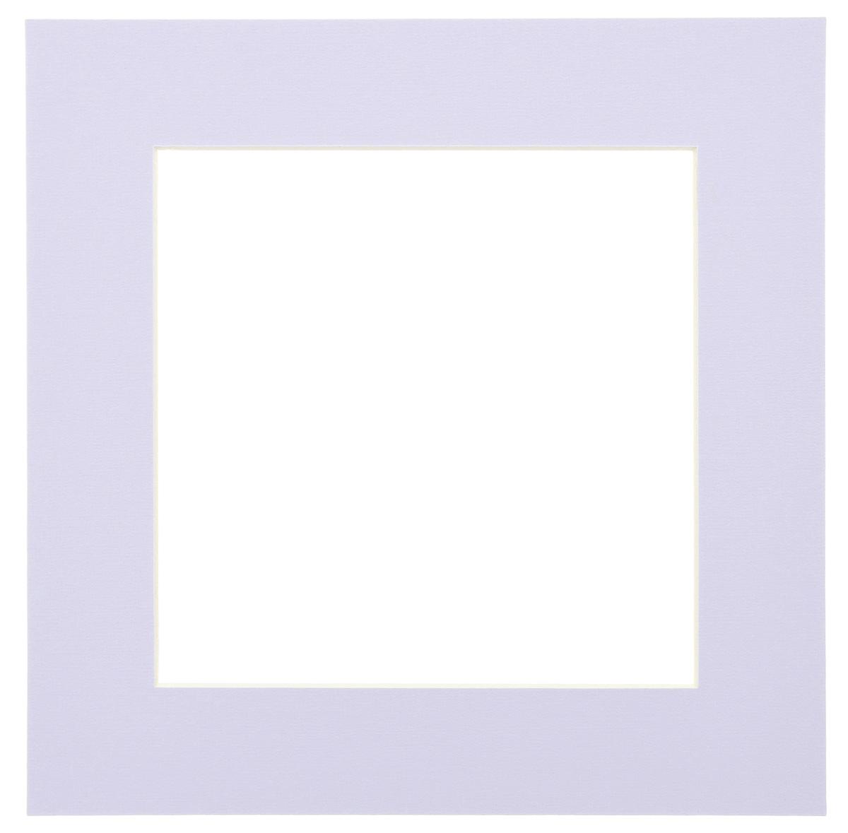 Паспарту Василиса, цвет: светло-сиреневый, 17 х 17 см580643Паспарту Василиса, изготовленное из плотного картона, предназначено для оформления художественных работ и фотографий. Оно располагается между багетной рамой и изображением, делая акцент на фотографии, усиливая ее визуальное восприятие. Кроме того, на паспарту часто располагают поясняющие подписи, автограф изображенного. Внешний размер: 25 см х 25 см. Внутренний размер: 17 см х 17 см.