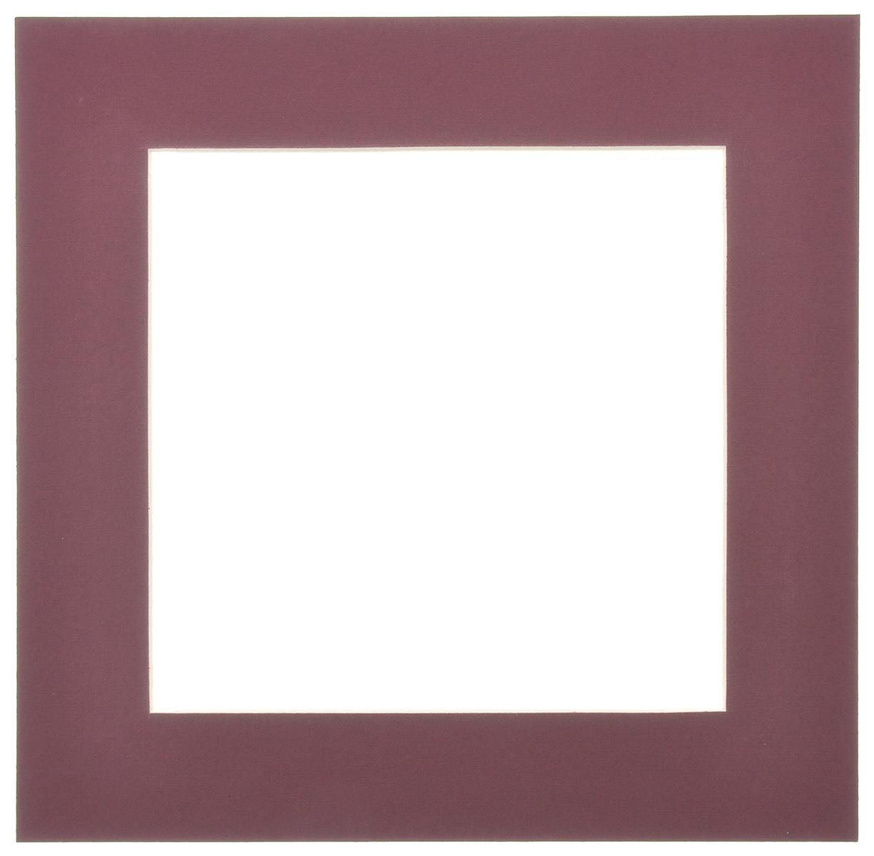Паспарту Василиса, цвет: темно-бордовый, 17 см х 17 см580644Паспарту Василиса, изготовленное из плотного картона, предназначено для оформления художественных работ и фотографий. Оно располагается между багетной рамой и изображением, делая акцент на фотографии, усиливая ее визуальное восприятие. Кроме того, на паспарту часто располагают поясняющие подписи, автограф изображенного. Внешний размер: 25 см х 25 см. Внутренний размер: 17 см х 17 см.