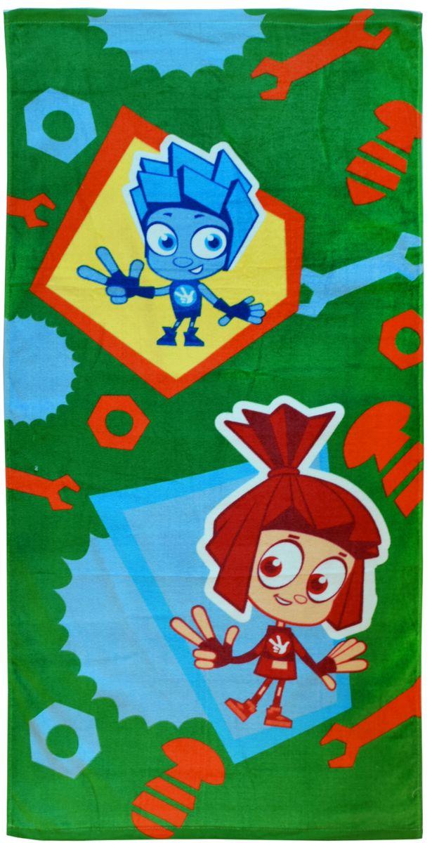Полотенце 60*120 см, махровое, Фиксики01300115890Красочные полотенца 2 в 1: одна сторона развлекает, другая — вытирает. Разнообразие расцветок полотенец поможет окунуться в мир волшебных сказок и мультипликационных героев.