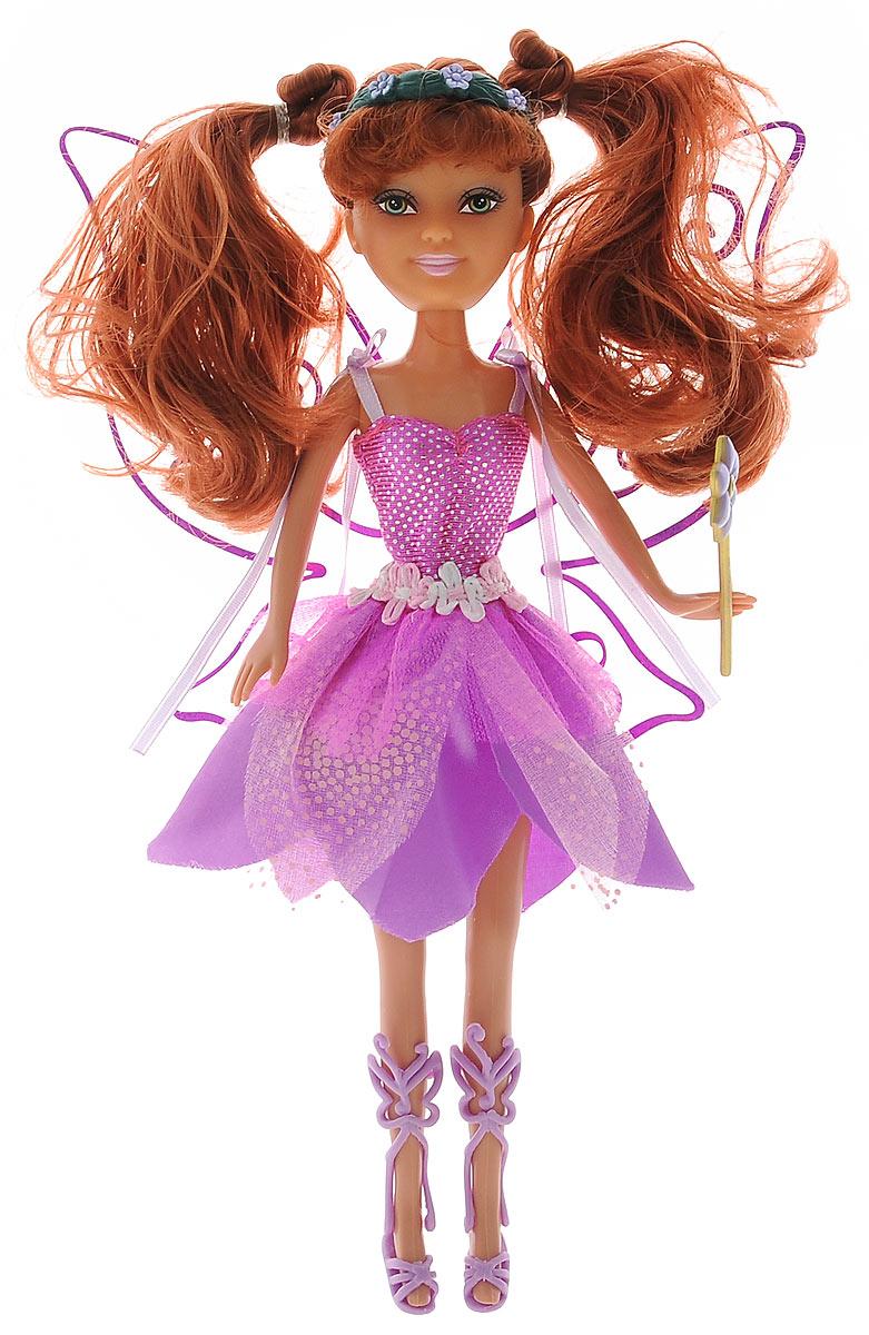 ABtoys Кукла Brilliance Fair Цветочная фея цвет платья розовый фиолетовый