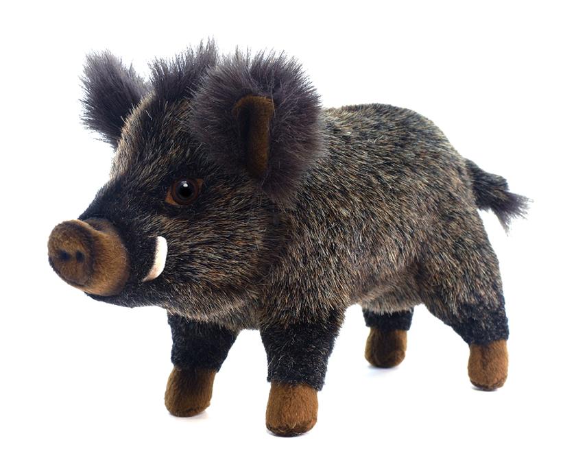 HANSA Мягкая игрушка Свинья Кабан, 29 см2830