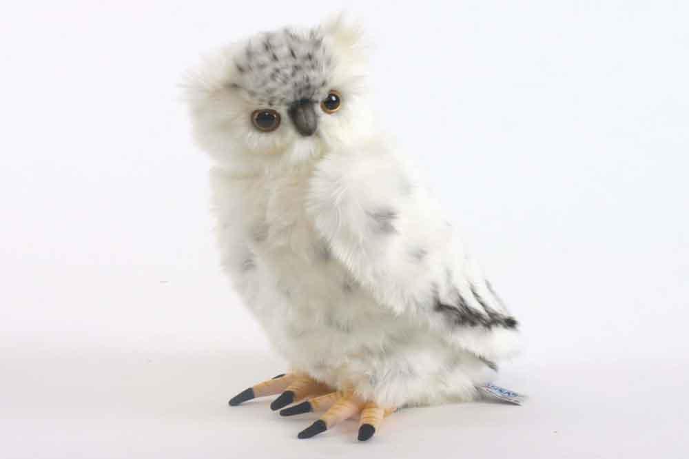 HANSA Мягкая игрушка Полярная сова, 33см3836