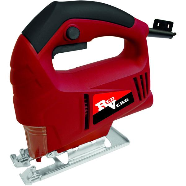 Лобзик RD-JS500-55 RedVergRD-JS500-55Лобзик RD-JS500-55 RedVerg это самая простая модель из семейства это производителя. Мощностью в 500 Вт, ход пилки от нуля до 3000 в минуту и глубиной пропила до 55 мм, подключение пылесборника. Поставляется в коробке с одной пилкой.