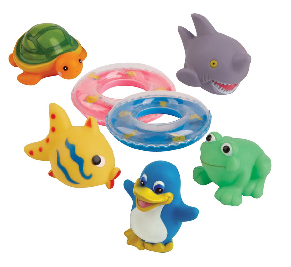 Курносики Набор игрушек для ванной Веселое купание25082