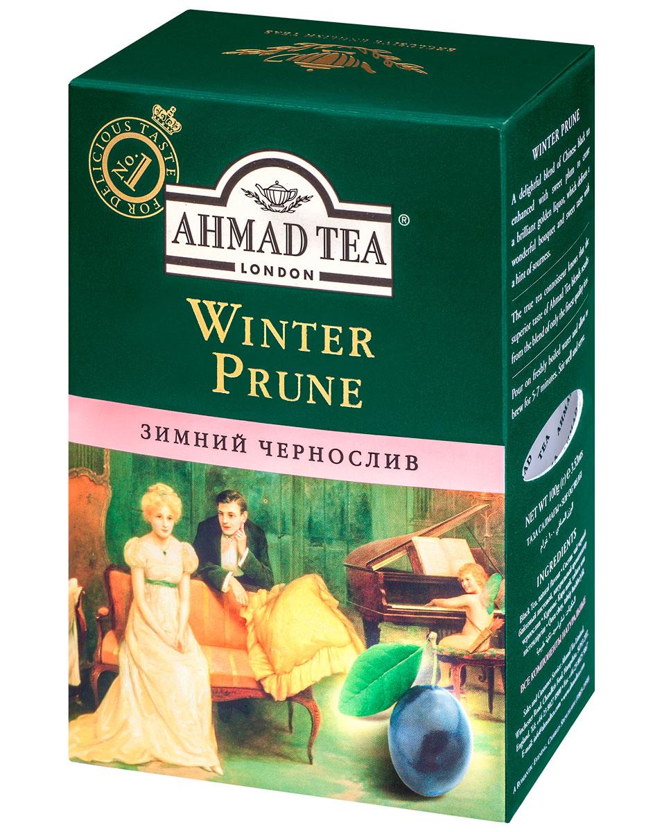 Ahmad Tea Winter Prune, 100 г1196Сладкий, насыщенный, с легкой кислинкой вкус чернослива обрамляет букет восхитительного китайского черного чая в композиции Ahmad Winter Prune, подобно прозрачному бриллианту в драгоценной оправе. В Японии и Китае дерево сливы начинает цветение в конце зимы, благодаря чему цветок сливы считается символом весны, торжествующей над зимой.
