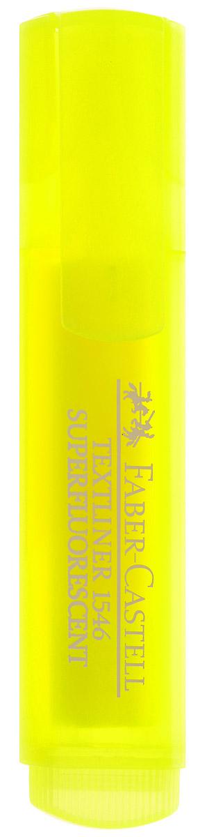 Faber-Castell Флуоресцентный текстовыделитель цвет желтый263287Флуоресцентный текстовыделитель Faber-Castell желтого цвета станет незаменимым предметом как на столе школьника, так и студента. Маркер с универсальными чернилами на водной основе идеален для всех видов бумаги. Линия маркировки шириной 5, 2 или 1 мм.