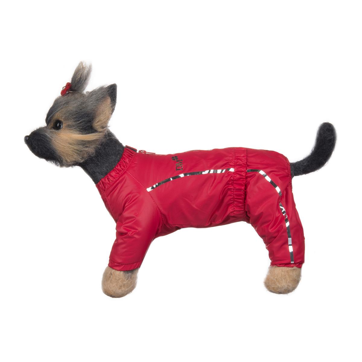 Комбинезон для собак Dogmoda Альпы, для девочки, цвет: фуксия. Размер 3 (L)DM-150327-3Комбинезон для собак Dogmoda Альпы отлично подойдет для прогулок поздней осенью или ранней весной. Комбинезон изготовлен из полиэстера, защищающего от ветра и осадков, с подкладкой из флиса, которая сохранит тепло и обеспечит отличный воздухообмен. Комбинезон застегивается на молнию и липучку, благодаря чему его легко надевать и снимать. Ворот, низ рукавов и брючин оснащены внутренними резинками, которые мягко обхватывают шею и лапки, не позволяя просачиваться холодному воздуху. На пояснице имеется внутренняя резинка. Изделие декорировано серебристыми полосками и надписью DM. Благодаря такому комбинезону простуда не грозит вашему питомцу и он не даст любимцу продрогнуть на прогулке.