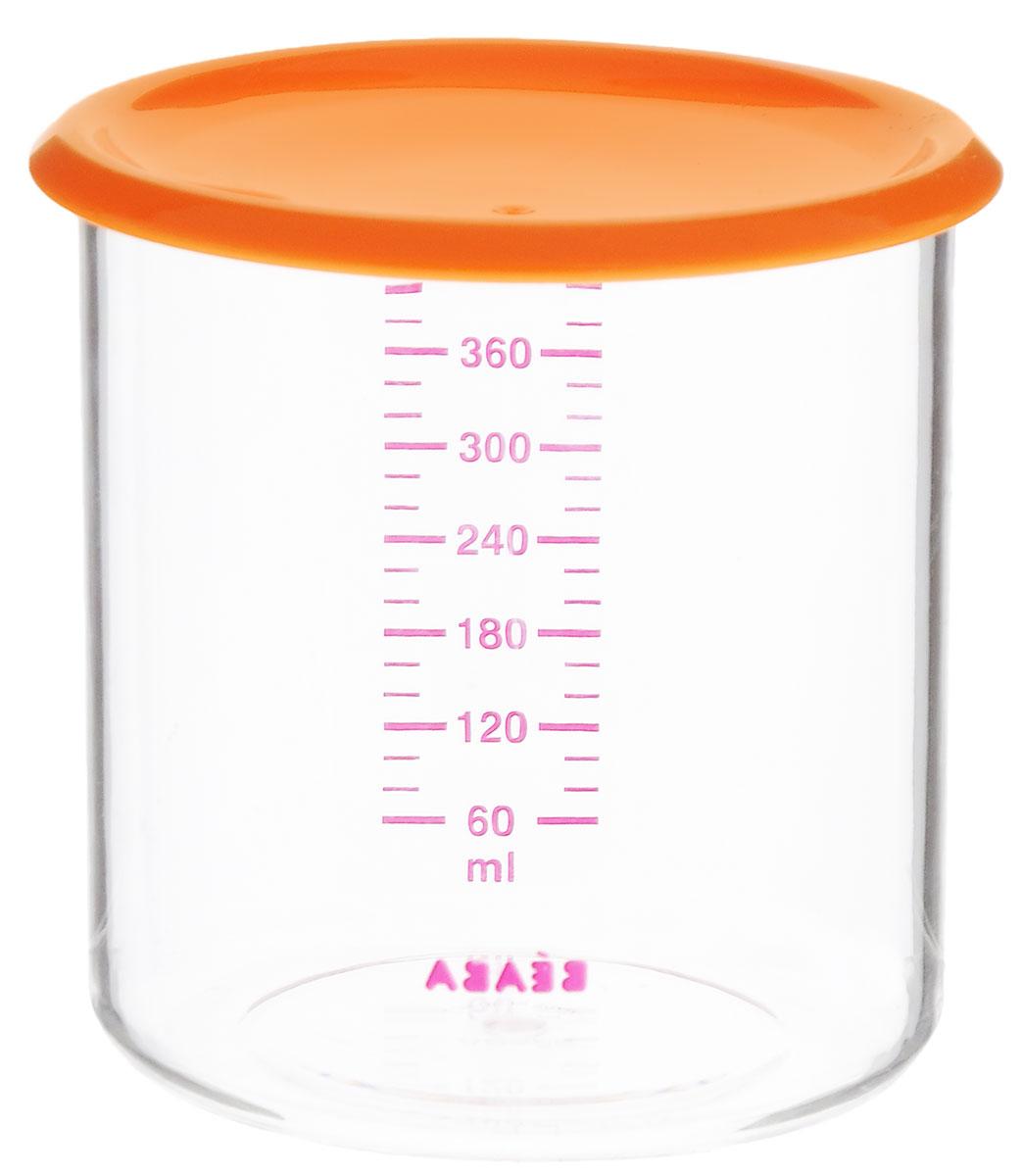Beaba Контейнер для пищевых продуктов 500 мл цвет оранжевый