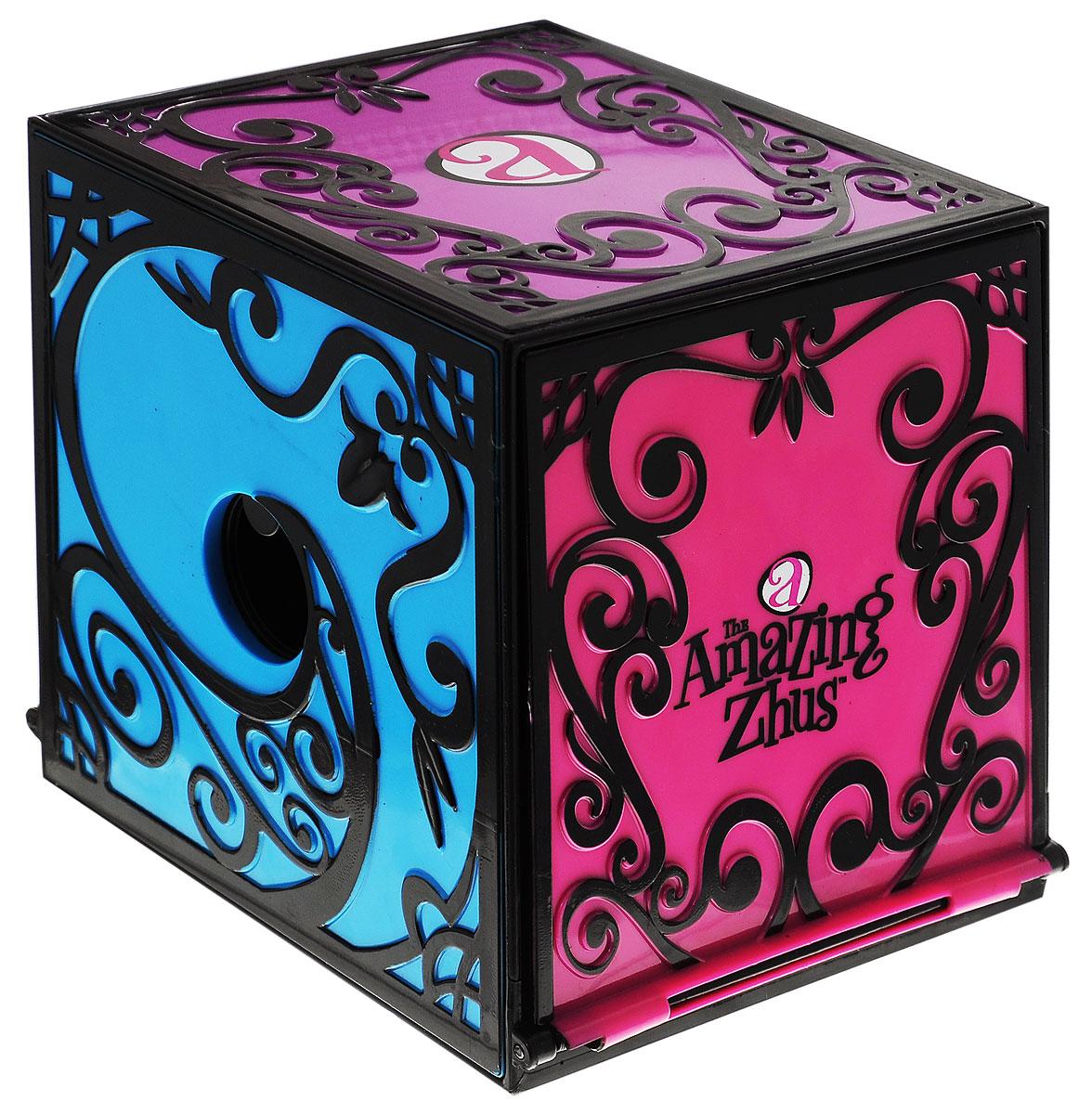 Amazing Zhus Игрушка Коробка для фокуса с исчезновением26230Игрушка Amazing Zhus Игрушка Коробка для фокуса с исчезновением предназначена для демонстрации фокусов с мышками Amazing Zhus (продаются отдельно). Покажите зрителям, что ящик пуст. Посадите туда мышку Amazing Zhus, произнесите волшебное слово, и мышка исчезнет! Вы сможете продемонстрировать изумленным зрителям, что мышки в ящике больше нет. Успех вашему фокусу обеспечен!