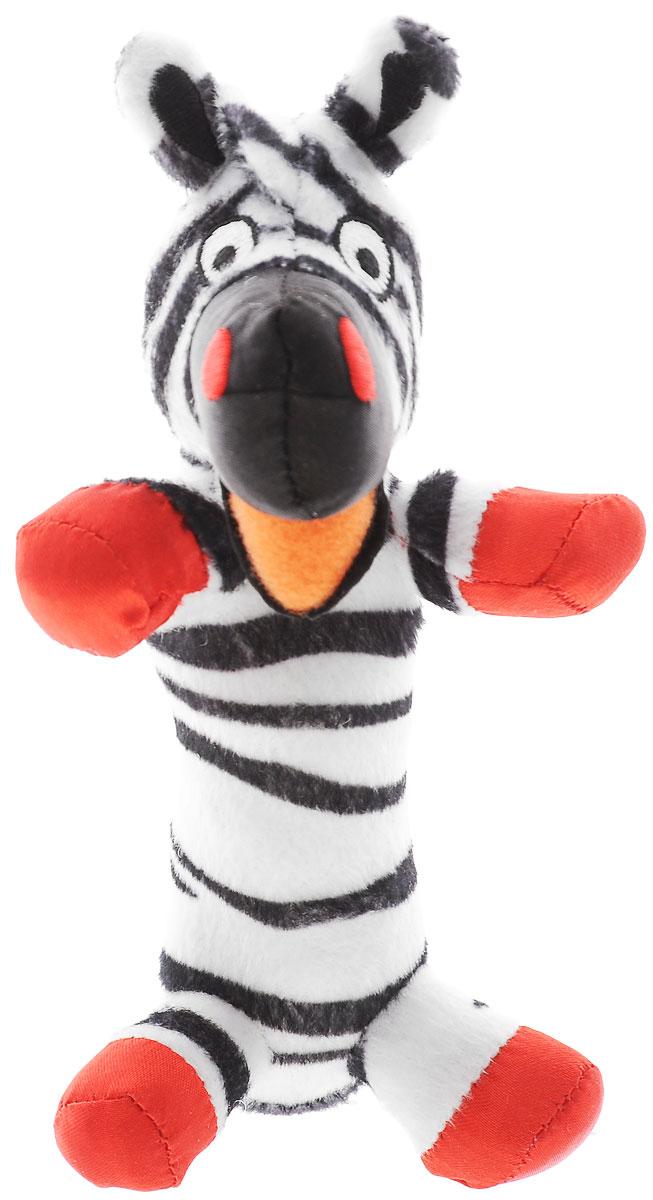 WeeWise Мягкая игрушка-погремушка Зебра40111_зебраЯркая мягкая игрушка-погремушка WeeWise Зебра привлечет внимание малыша и не позволит ему скучать. Погремушка выполнена из высококачественных гипоаллергенных материалов: разнофактурный текстиль и мягкий наполнитель, что делает ее абсолютно безопасной в игре. Игрушка состоит из крупной головы зебры и длинной округлой и очень удобной ножки-держателя. При потряхивании игрушки раздается негромкий звук. Мягкая игрушка-погремушка способствует развитию мышления, координации движений, звукового и цветового восприятия, тактильных ощущений, совершенствует моторику ручек малыша. Ваш малыш обязательно полюбит игрушку, а игры с ней будут не только увлекательными, но и полезными для развития малыша. Порадуйте своего ребенка таким замечательным подарком.