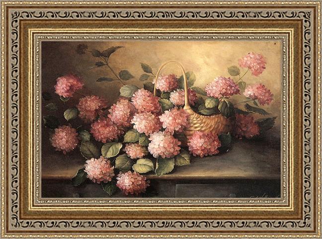 Розовые гортензии (Fabrice de Villeneuve), 17 х 22 см17x22 D1314-41709Художественная репродукция картины Fabrice de Villeneuve Hydrangeas in Pink. Размер постера: 17 см х 22 см Артикул: 17x22 D1314-41709.