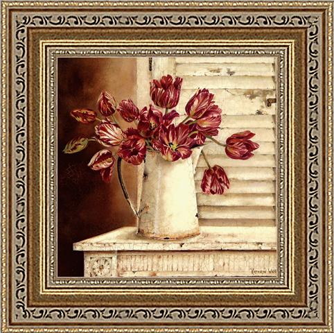 Алые тюльпаны (Kathryn White), 18 х 18 см18x18 D1872-41709Художественная репродукция картины Kathryn White Crimson Tulips. Размер постера: 18 см х 18 см Артикул: 18x18 D1872-41709.
