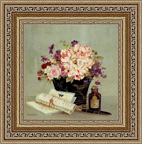 Песня птицы (Kathryn White)18х18 D3152-41709Художественная репродукция картины Kathryn White Song Birg Journals Размер постера: 18 см х 18 см.