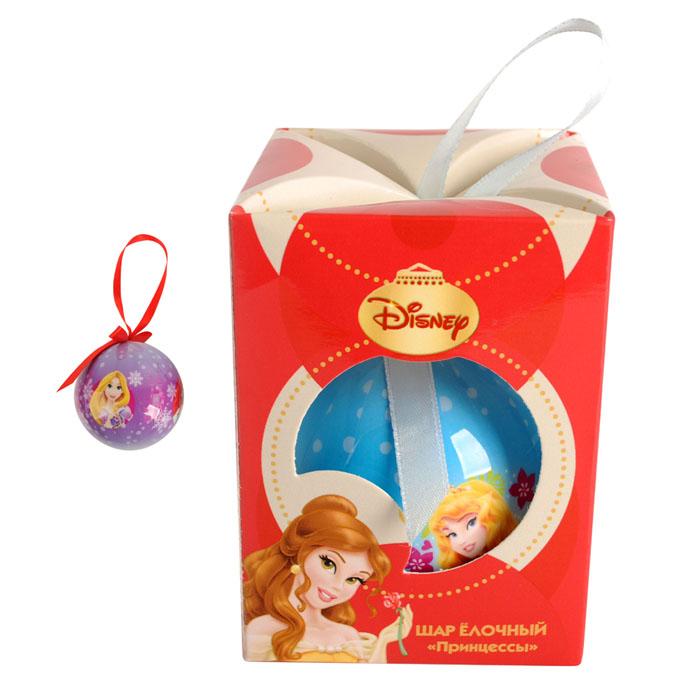 Шар елочный Принцессы, 7,5 см, пенопласт66356_1Яркий, красивый, запоминающийся елочный шар с любимыми героями Принцессы подарит улыбку и радость Вашему ребенку.