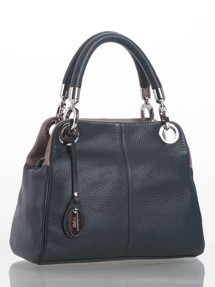 Сумка женская Palio, цвет: темно-зеленый, серо-коричневый. 4990FW74990FW7Стильная сумка Palio выполнена из натуральной кожи с зернистой фактурой, оформлена подвеской и металлической фурнитурой с символикой бренда. Сумка содержит два отделения, которые закрываются на застежки-молнии. Внутри изделия расположен врезной карман на молнии и два накладных кармана для телефона и мелочей. Изделие оснащено двумя съемными ручками и съемным плечевым ремнем, длина которого регулируется при помощи пряжки. Ручки сумки дополнены фурнитурой из металла. Оригинальный аксессуар позволит вам завершить образ и быть неотразимой.