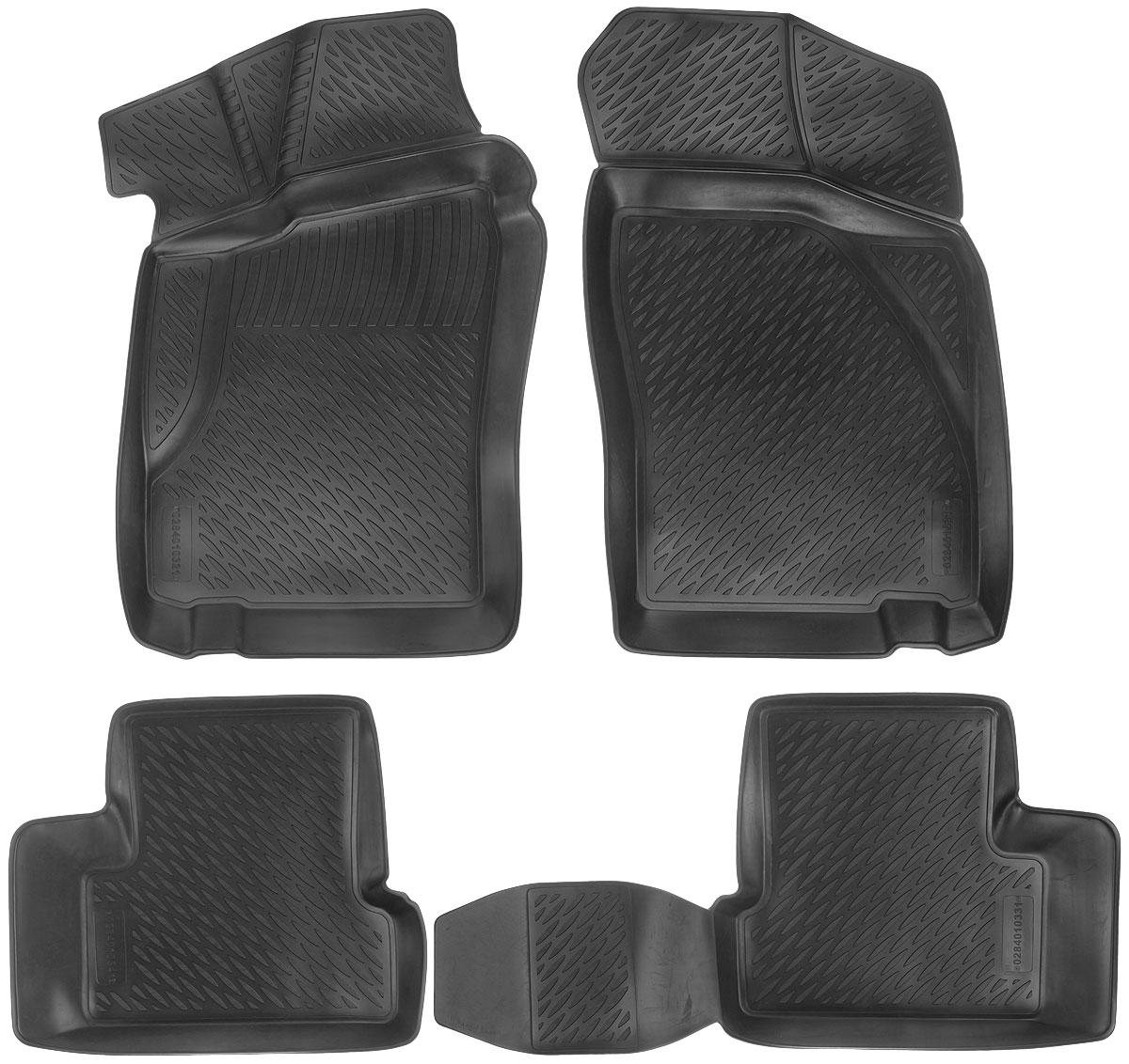 Набор автомобильных ковриков L.Locker Daewoo Nexia 2005, в салон, 4 шт0284010301Набор L.Locker Daewoo Nexia 2005, изготовленный из полиуретана, состоит из 4 антискользящих 3D ковриков, которые производятся индивидуально для каждой модели автомобиля. Изделие точно повторяет геометрию пола автомобиля, имеет высокий борт, обладает повышенной износоустойчивостью, лишено резкого запаха и сохраняет свои потребительские свойства в широком диапазоне температур от -50°С до +50°С. Набор подходит для автомобилей с 2005 года выпуска. Комплектация: 4 шт. Размер ковриков: 84 см х 58 см; 54 см х 46 см; 90 см х 46 см; 85 см х 53 см.