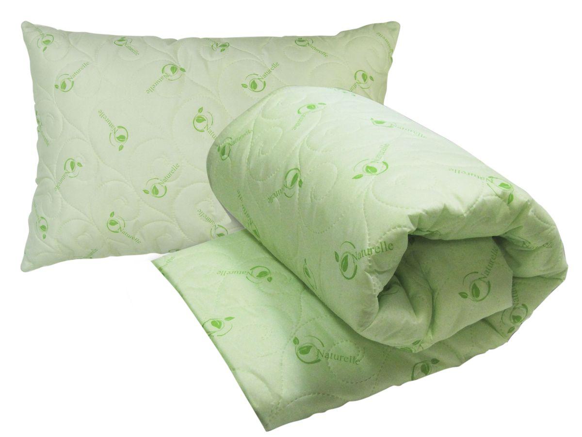 Комплект Натурель (одеяло 140х205 + подушка 50х72 -1 шт.)419056210Наволочка на подушке на застежке-молнии.