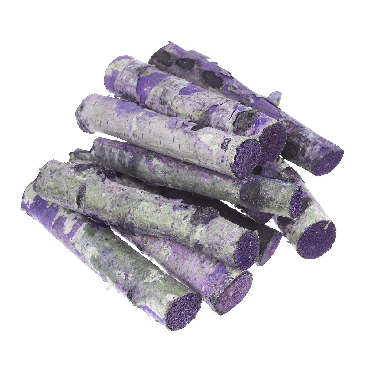Декоративные элементы Dongjiang Art, цвет: фиолетовый, длина 10 см, 250 г7709036_фиолетовыйДекоративные элементы Dongjiang Art представляют собой ветки деревьев и предназначены для украшения цветочных композиций. Такие элементы могут пригодиться во флористике и многом другом. Флористика - вид декоративно-прикладного искусства, который использует живые, засушенные или консервированные природные материалы для создания флористических работ. Это целый мир, в котором есть место и строгому математическому расчету, и вдохновению, полету фантазии. Длина ветки: 10 см. Диаметр ветки: 1,5 см; 2,2 см.