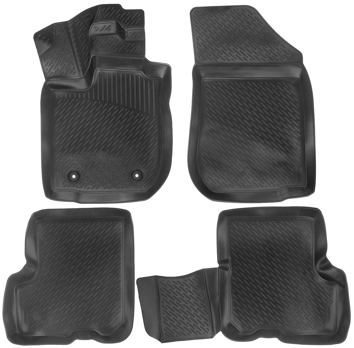 Набор автомобильных ковриков L.Locker Renault Logan 2013, в салон, 4 шт0206040601Набор L.Locker Renault Logan 2013, изготовленный из полиуретана, состоит из 4 антискользящих 3D ковриков, которые производятся индивидуально для каждой модели автомобиля. Изделие точно повторяет геометрию пола автомобиля, имеет высокий борт, обладает повышенной износоустойчивостью, лишено резкого запаха и сохраняет свои потребительские свойства в широком диапазоне температур от -50°С до +50°С. Комплектация: 4 шт. Размер ковриков: 85 см х 54 см; 56,5 см х 60 см; 91 см х 59 см; 56 см х 84,5 см.