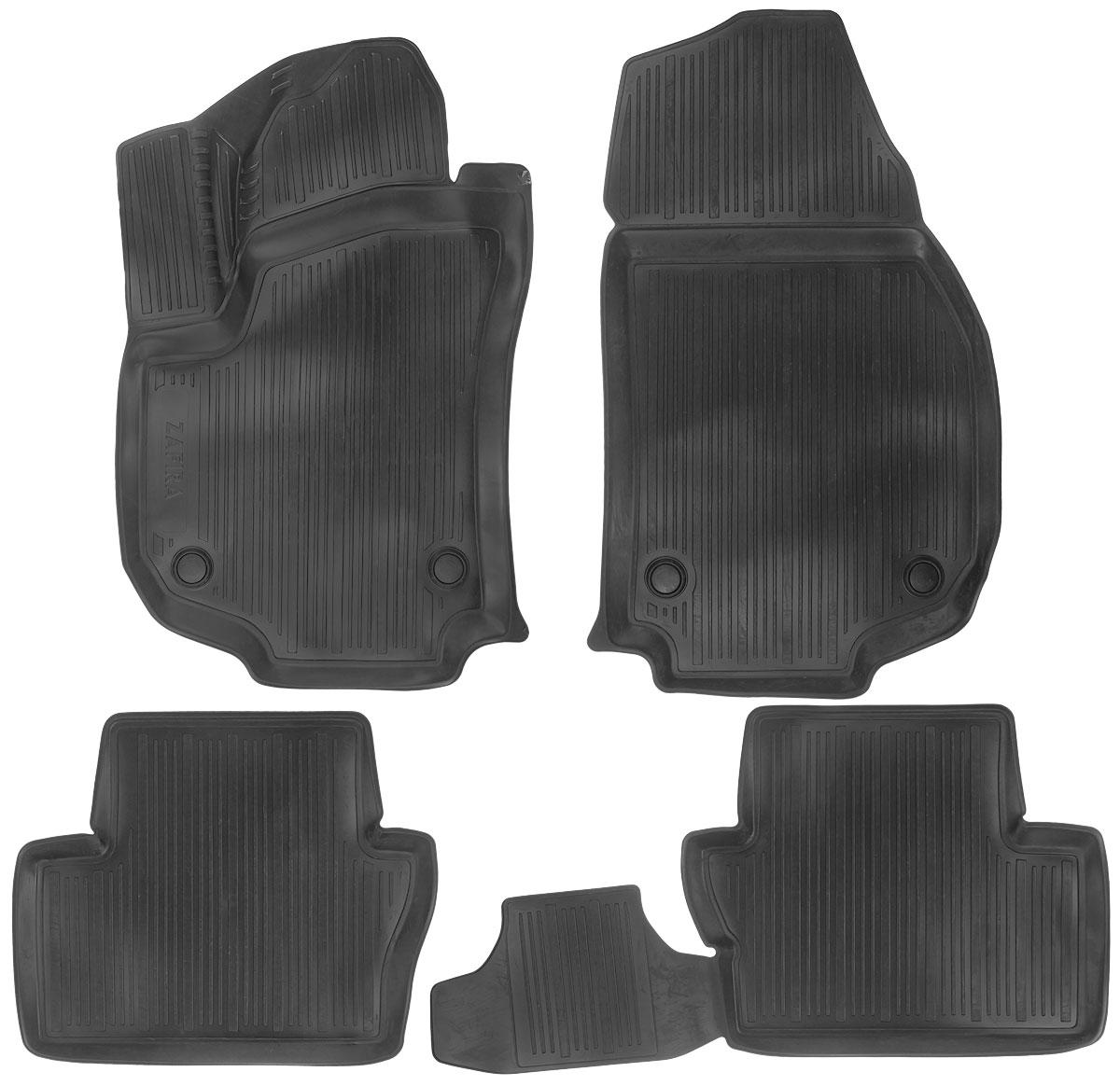 Набор автомобильных ковриков L.Locker Opel Zafira В 2005, в салон, 4 шт0211040501Набор L.Locker Opel Zafira В 2005, изготовленный из полиуретана, состоит из 4 антискользящих 3D ковриков, которые производятся индивидуально для каждой модели автомобиля. Изделие точно повторяет геометрию пола автомобиля, имеет высокий борт, обладает повышенной износоустойчивостью, лишено резкого запаха и сохраняет свои потребительские свойства в широком диапазоне температур от -50°С до +50°С. Комплектация: 4 шт. Размер ковриков: 82 см х 49 см; 53 см х 45 см; 88 см х 45 см; 52 см х 87 см.