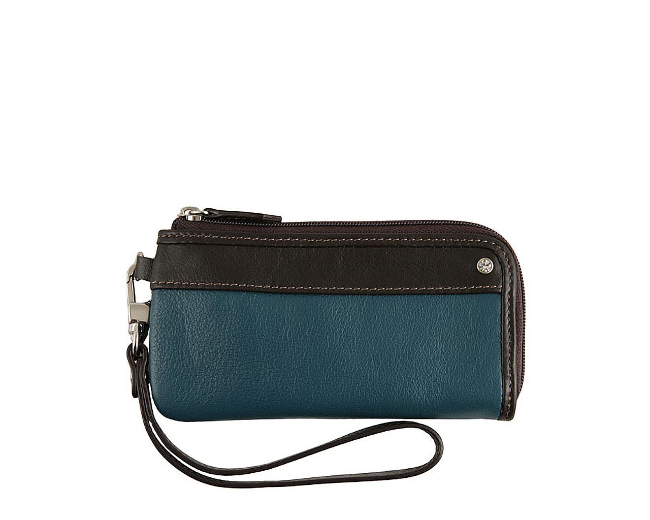 Ключница Leo Ventoni, цвет: голубой, коричневый. L330210