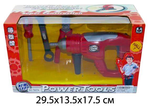 Shantou Gepai Набор инструментов дрель и аксес.7907A