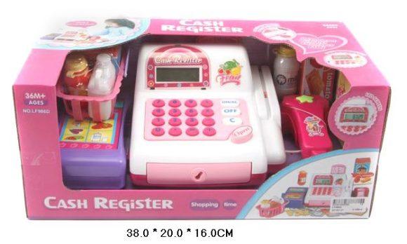 Shantou Gepai Касса эл. со сканером и набором продуктов.LF986D