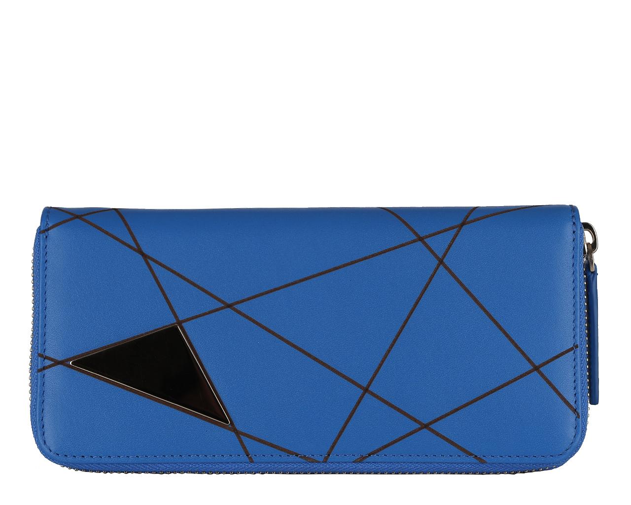 Кошелек женский Leo Ventoni, цвет: синий. L330886L330886 blueЭлегантный кошелек Leo Ventoni выполнен из натуральной кожи и оформлен металлической фурнитурой, внутренняя часть изделия выполнена из текстиля и натуральной кожи. Изделие закрывается на застежку-молнию. Внутри предусмотрено два накладных кармана, девять кармашков для кредитных карт или визиток, один из которых с прозрачной вставкой из пластика, отделение для монет на молнии. Также размещены три отделения, которые предусмотрены для хранения купюр и мелких документов. Стильный кошелек Leo Ventoni станет отличным подарком для человека, ценящего качественные и практичные вещи.