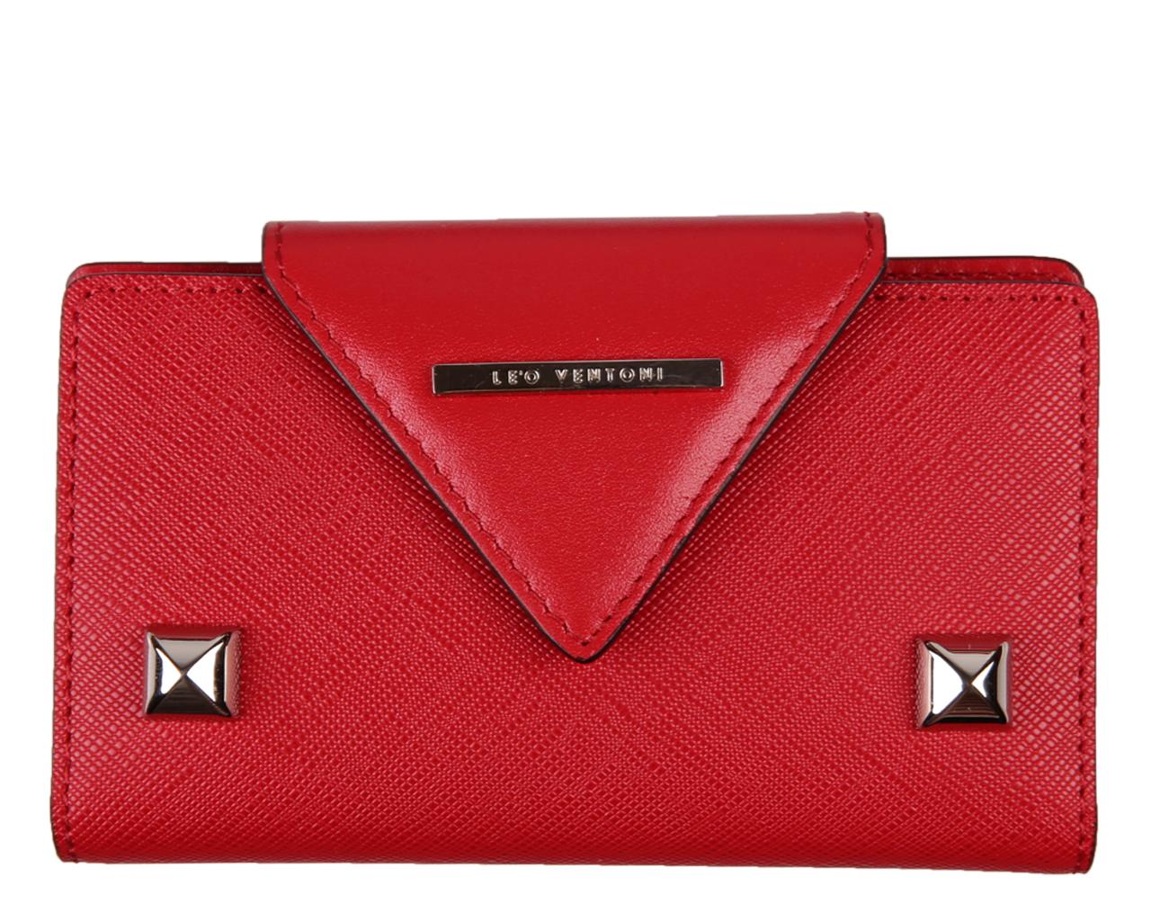 Ключница женская Leo Ventoni, цвет: красный. L330766
