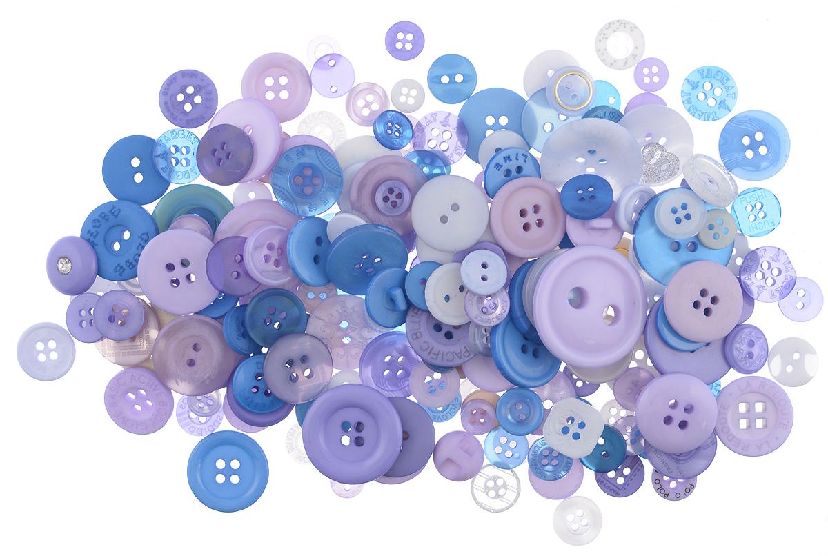 Пуговицы декоративные Buttons Galore & More Button Jars, цвет: сумерки, 115 г. 77088827708882_СумеркиНабор пуговиц для творчества и декорирования одежды Buttons Galore & More Button Jars изготовлен из высококачественного пластика. В набор входят пуговицы различных размеров и с разным количеством отверстий. Такие пуговицы подходят для любых видов творчества: скрапбукинга, декорирования, шитья, изготовления кукол, а также для оформления одежды. С их помощью вы сможете украсить открытку, фотографию, альбом, подарок и другие предметы ручной работы. Пуговицы имеют оригинальный и яркий дизайн. Средний диаметр пуговиц: 1,7 см.