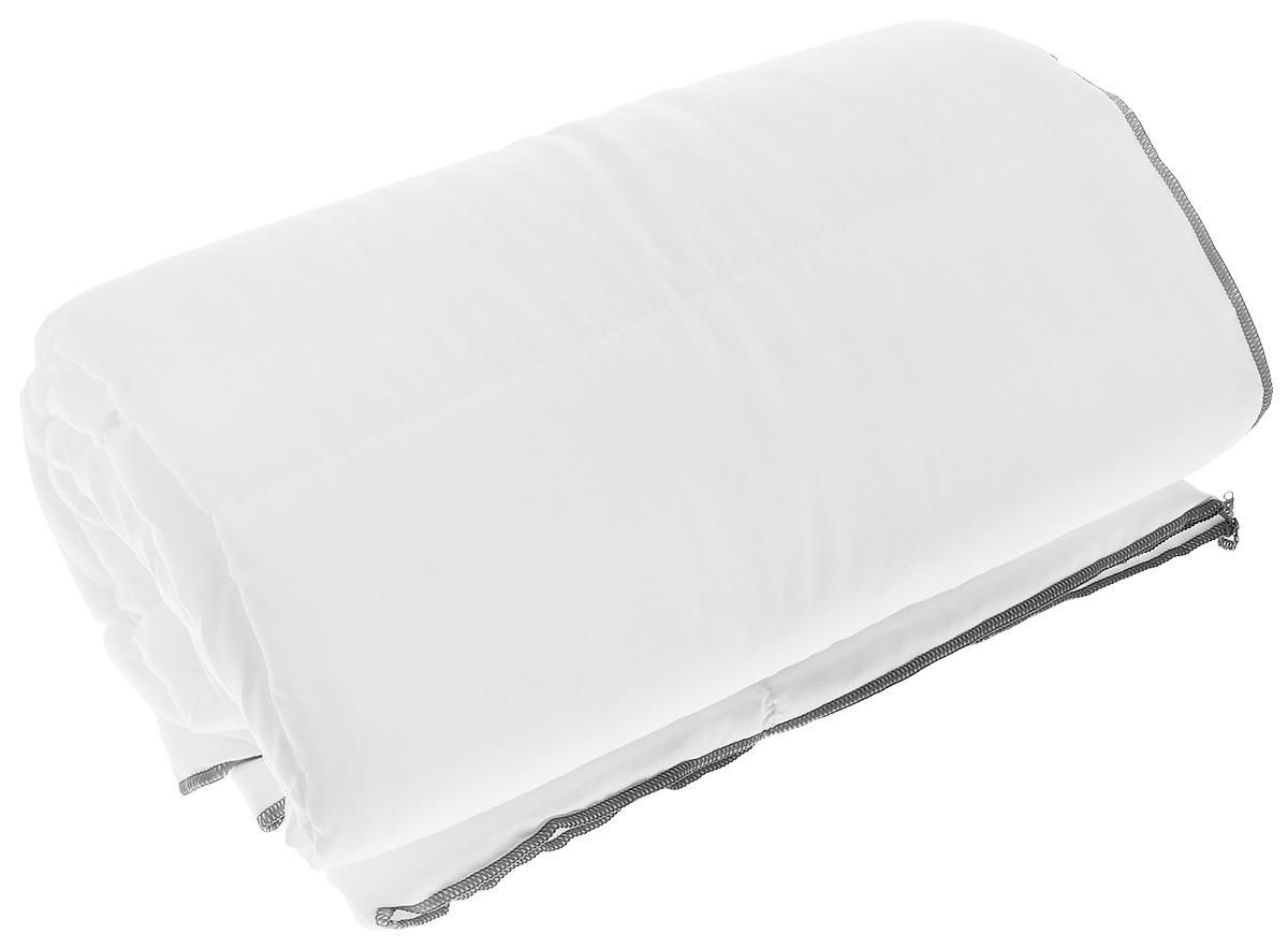 Одеяло легкое Dargez Дили, наполнитель: силиконизированное волокно, цвет: белый, 140 х 200 см22(13)323_белыйОдеяло Dargez Дили подарит уютный и комфортный сон. Чехол одеяла выполнен из микрофибры, наполнитель - силиконизированное волокно. Изделие с синтетическим наполнителем: - не вызывает аллергических реакций; - воздухопроницаемо; - не впитывает запахи; - имеет удобную форму. Рекомендации по уходу: - Стирка при температуре не более 40°С. - Запрещается отбеливать, гладить. Материал чехла: микрофибра (100% полиэстер). Наполнитель: силиконизированное волокно. Масса наполнителя: 0,40 кг. Размер одеяла: 140 см х 200 см.