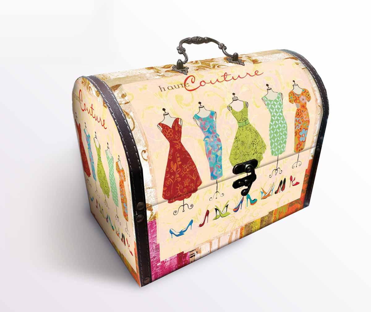 Декоративная шкатулка Кутюр арт.39841 (22*11*17,5 см, из МДФ (древесина павловнии) арт.3984139841