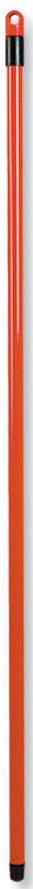 Рукоятка металлическая Banat, цвет: красный, длина 120 см780223Рукоятка Banat изготовлена из металла с цветным покрытием. Предназначена для крепления различных насадок и швабр. Снабжена отверстием для подвеса. Имеет стандартную резьбу, подходящую к большинству видов насадок. Диаметр рукоятки: 2 см. Длина рукоятки: 120 см.