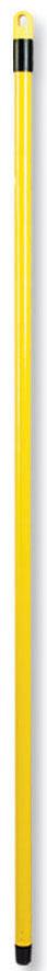 Рукоятка металлическая Banat, цвет: желтый, длина 120 см780223_желтыйРукоятка Banat изготовлена из металла с цветным покрытием. Предназначена для крепления различных насадок и швабр. Снабжена отверстием для подвеса. Имеет стандартную резьбу, подходящую к большинству видов насадок. Диаметр рукоятки: 2 см. Длина рукоятки: 120 см.