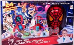 Игровой набор Лаборатория Spider-Man550650IMC Toys - знаменитый испанский инновационный бренд, создающий необычные и интересные игрушки. Например, представленный набор Лаборатория SPIDER-MAN от торговой марки MARVEL. С помощью деталей, входящих в комплект, ребенок сможет произвести более 40 различных опытов! Изучайте и играйте с удовольствием!