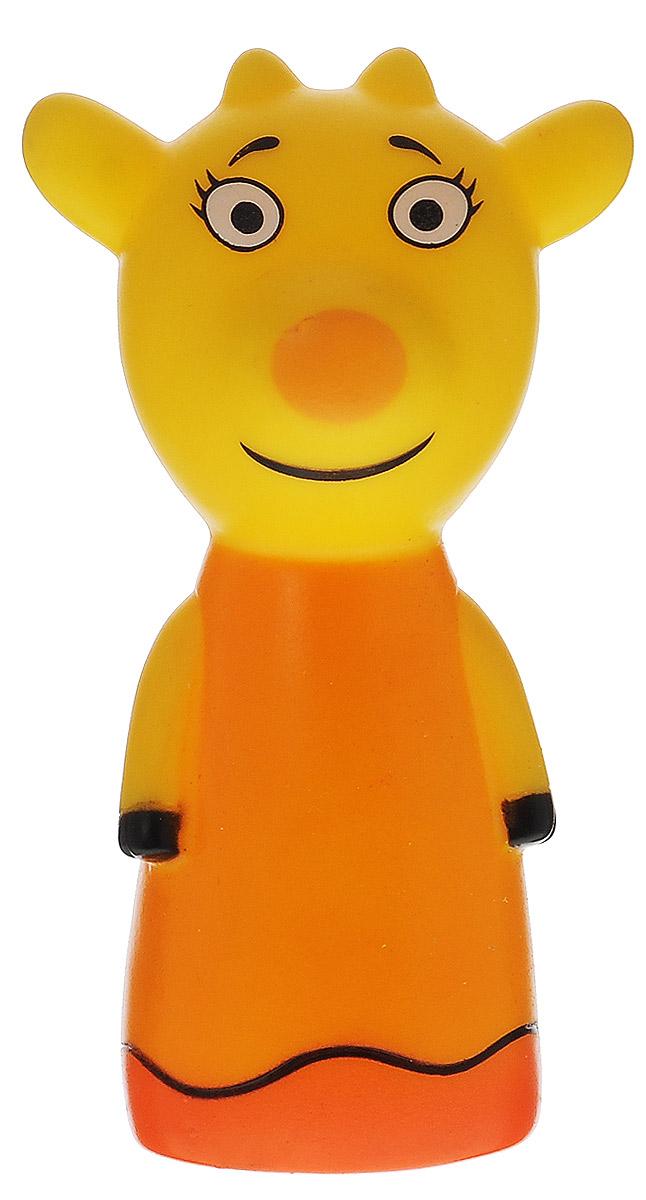 Мир детства Игрушка для ванны Коровка Зо25144Игрушка для ванны Коровка Зо, непременно понравится вашему ребенку и превратит купание в веселую игру! Игрушка-брызгалка выполнена из мягкого безопасного материала в виде героини мультфильма Ягодный пирог. Игрушка способствует развитию воображения, цветового восприятия, тактильных ощущений и мелкой моторики рук.