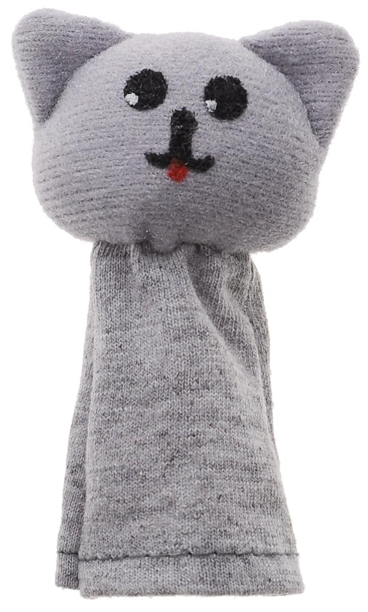 Наивный мир Кукла пальчиковая Кошка Мурка цвет серый017.34Кукла пальчиковая Кошка Мурка, станет великолепным дополнением к вашему домашнему театру. Играть и ставить спектакли с пальчиковыми куклами необыкновенно интересно. Управлять такой куклой сможет даже ребенок. Играя, малыш разовьет мелкую моторику рук, а сочиняя сценарии - воображение.