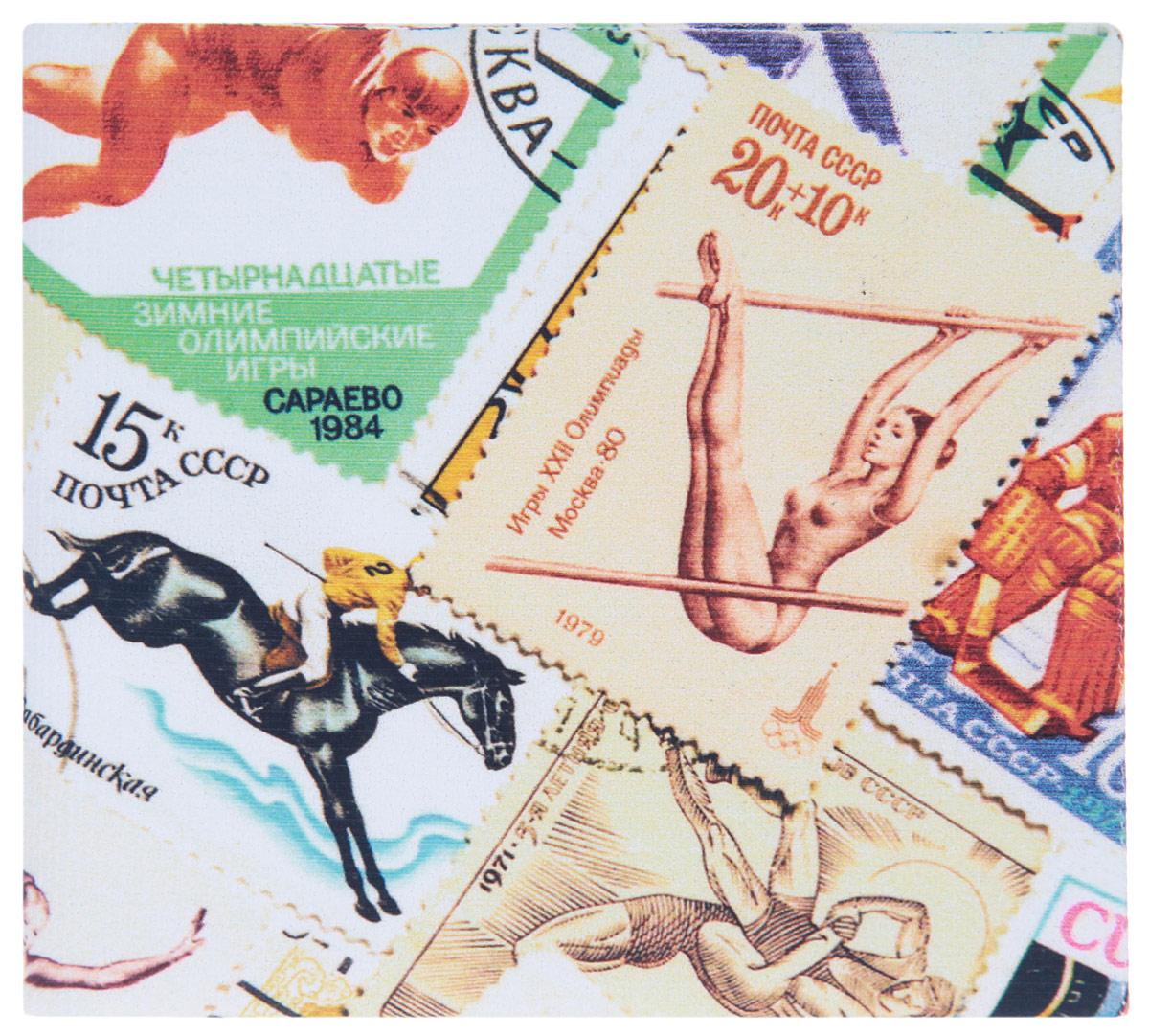 Кошелек Спорт (марки) 2. KZAM033KZAM033Авторский, неповторимый кошелек от Mitya Veselkov Спорт (марки) выполнен из синтетического материала и оформлен изображением марок на спортивную тематику. Кошелек раскладывается пополам и содержит отделение для купюр и два врезных кармана для кредитных карт или визиток. Стильный кошелек Mitya Veselkov Спорт (марки) станет отличным подарком для творческого человека.