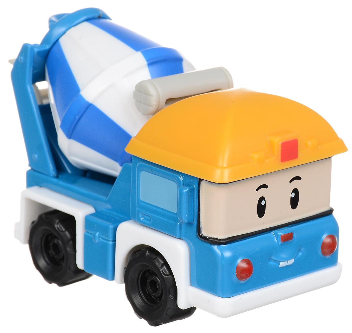 Robocar Poli Машинка Майки83256Машинка Robocar Poli Майки непременно понравится вашему малышу. Она выполнена из металла с элементами пластика в виде бетономешалки Майки - персонажа популярного мультсериала Robocar Poli. Майки оснащен колесиками со свободным ходом, позволяющими катать машинку. Благодаря небольшому размеру ребенок сможет взять игрушку с собой на прогулку, в поездку или в гости. Порадуйте своего малыша таким замечательным подарком!