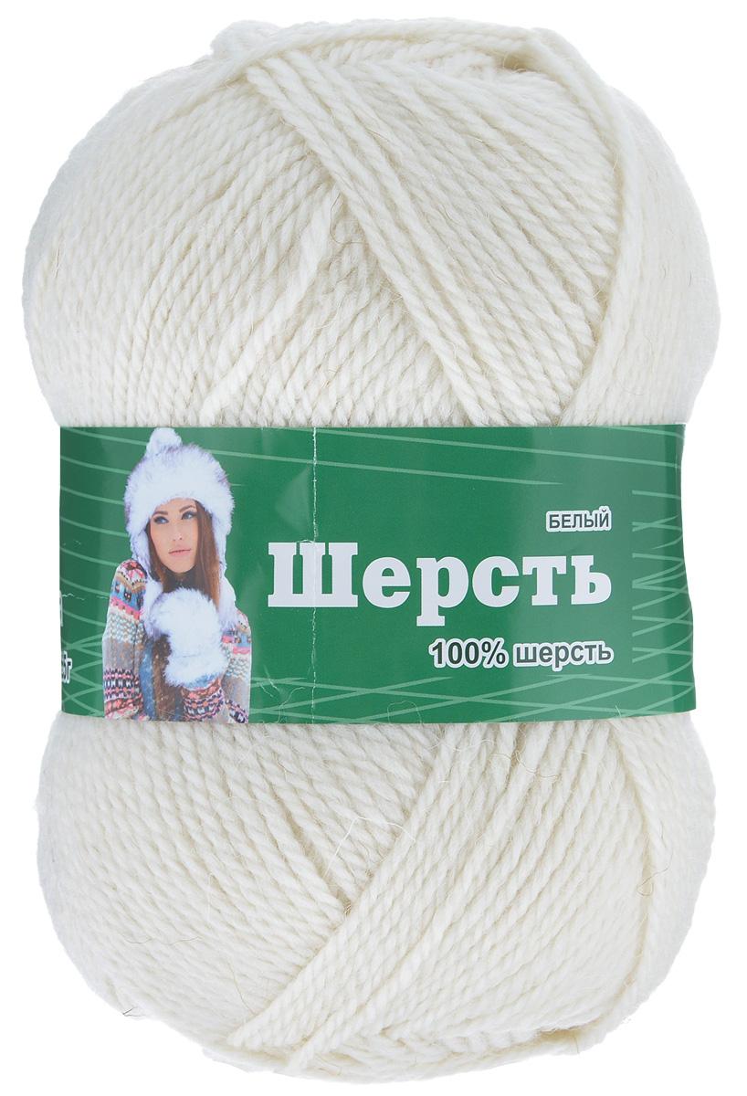 Пряжа для вязания Астра Wool, цвет: белый, 200 м, 100 г, 3 шт488342_белыйПряжа для вязания Астра Wool изготовлена из мягкой и высококачественной натуральной шерсти. Из пряжи Астра Wool получается тонкий, но очень теплый трикотаж. Шерстяное волокно имеет высокую упругость, поэтому хорошо держит форму, обладает превосходными гигиеническими свойствами: имеет высокую гигроскопичность и отводит влагу от тела. Рекомендуемые для вязания спицы: 3-5 мм. Рекомендуемые для вязания крючки: 3-5 мм. Состав: 100% импортная полутонкая шерсть.