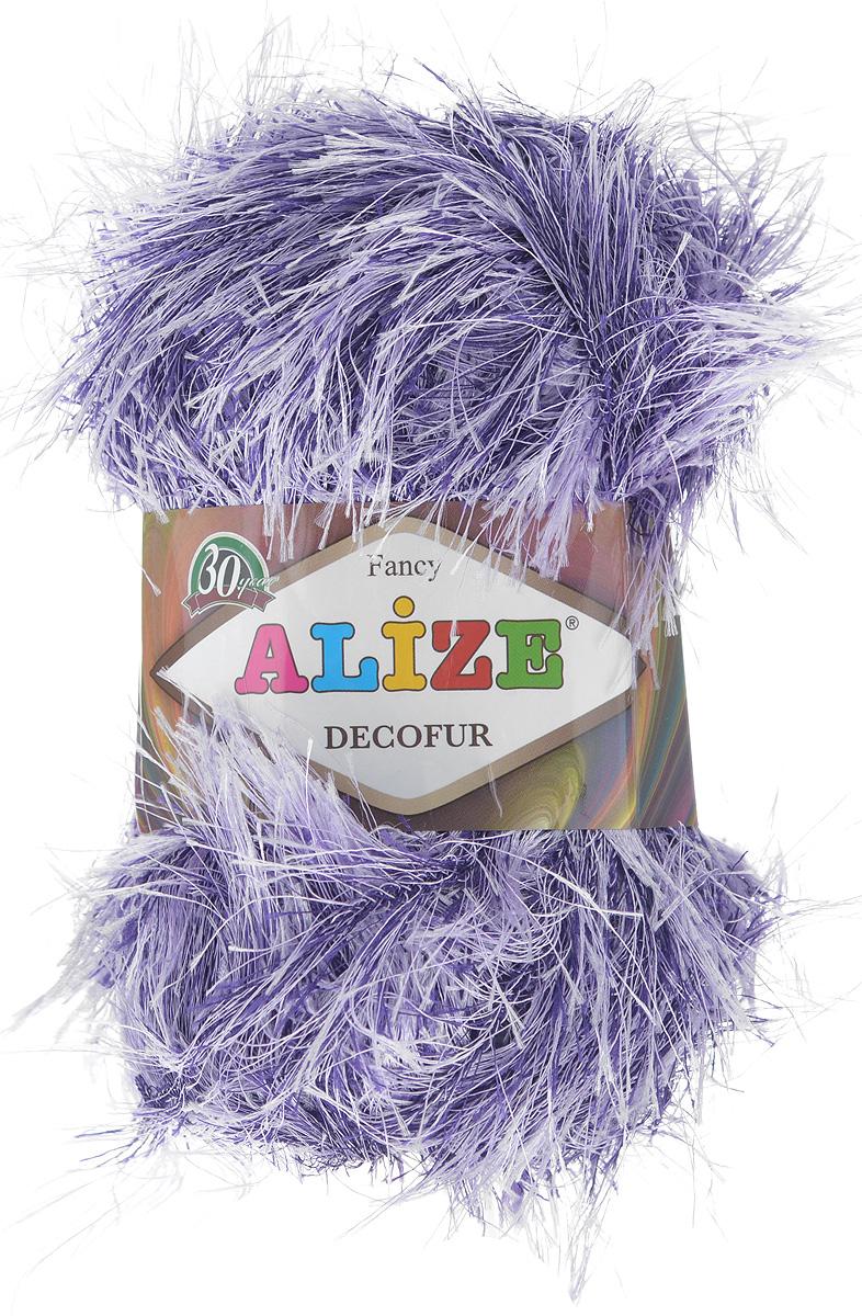 Пряжа для вязания Alize Decofur, цвет: сиреневый, фиолетовый (1364), 110 м, 100 г, 5 шт364128_1364Пряжа для вязания Alize Decofur изготовлена из полиэстера. Пряжа-травка предназначена для ручного вязания и идеально подходит для отделки. Готовый ворс получается равным 4 см. Рекомендованные спицы для вязания 6-8 мм. Рекомендованный крючок для вязания 3-4 мм. Комплектация: 5 мотков. Состав: 100% полиэстер.