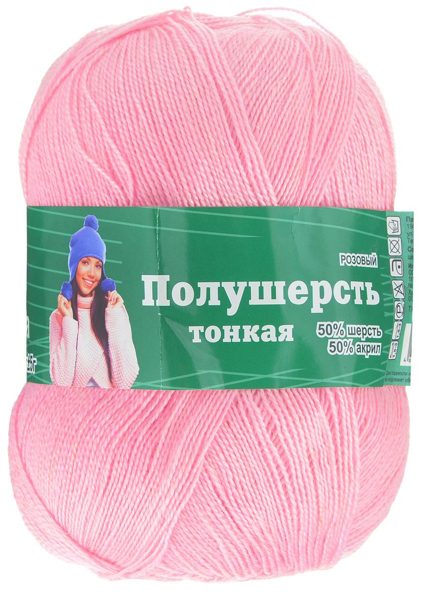 Пряжа для вязания Астра Mix Wool Xs, цвет: розовый, 600 м, 100 г, 3 шт488345_розовыйПряжа для вязания Астра Mix Wool Xs изготовлена из мягкой и высококачественной натуральной шерсти и акрила. Из пряжи Астра Mix Wool Xs получается тонкий и теплый трикотаж. Волокно имеет высокую упругость, поэтому хорошо держит форму, обладает превосходными гигиеническими свойствами: имеет высокую гигроскопичность и отводит влагу от тела. Рекомендуемые для вязания спицы: 1,5-3 мм. Рекомендуемый для вязания крючок: 1,5-3 мм. Состав: 50% шерсть; 50% акрил.