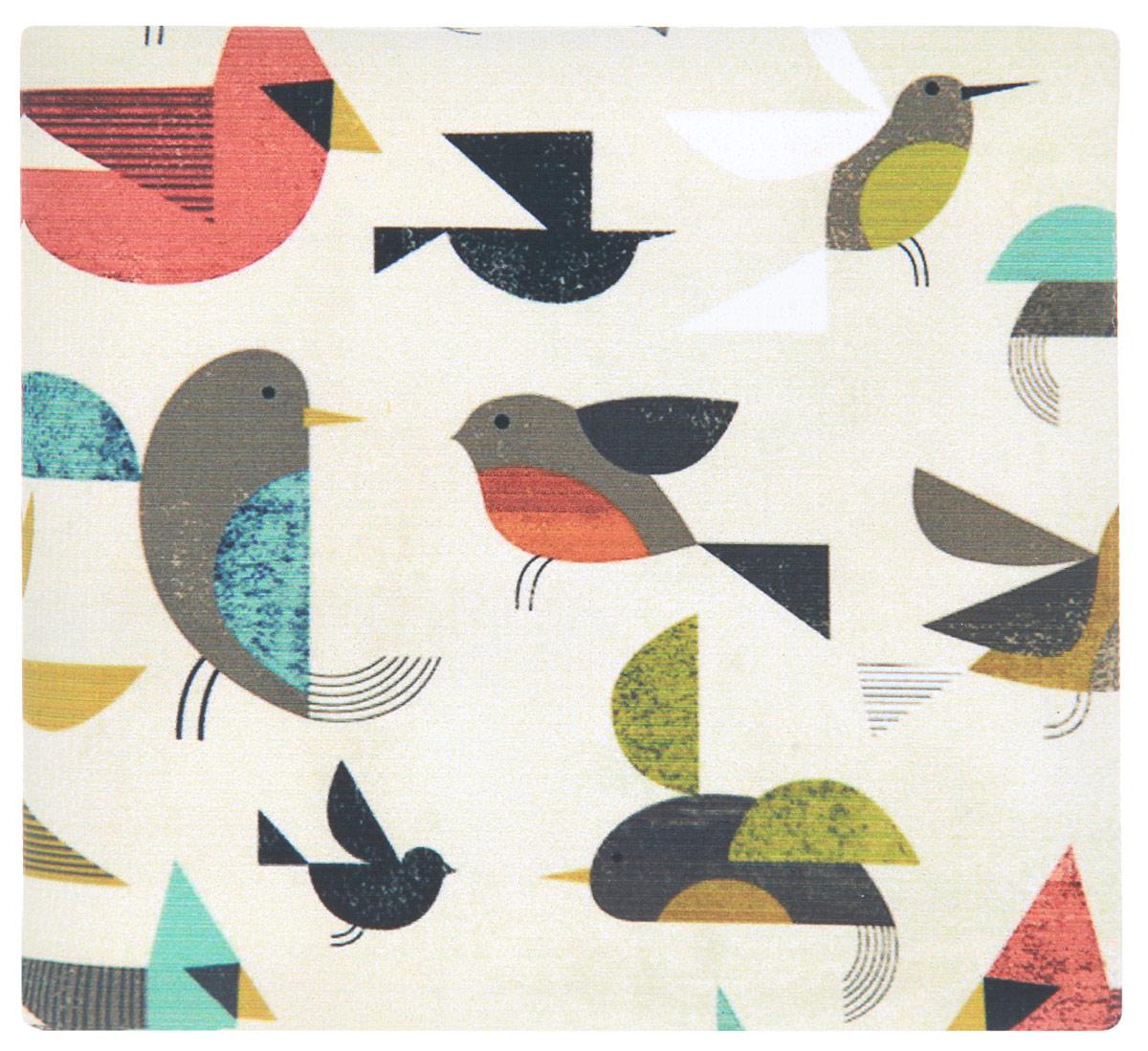 Кошелек Птички-невелички. KZAM029KZAM029Авторский, неповторимый кошелек от Mitya Veselkov Птички-невелички выполнен из синтетического материала и оформлен изображением птиц. Кошелек раскладывается пополам и содержит отделение для купюр и два врезных кармана для кредитных карт или визиток. Стильный кошелек Mitya Veselkov Птички-невелички станет отличным подарком для творческого человека.