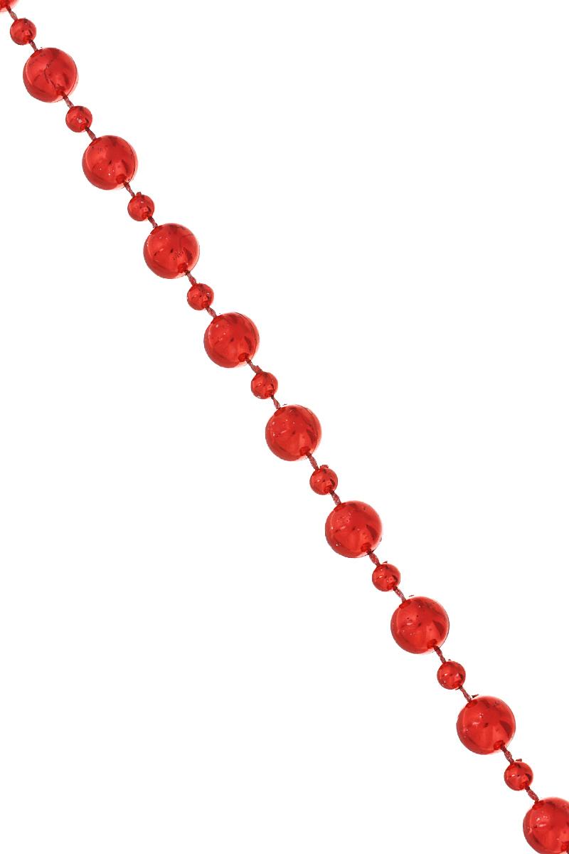 Новогодняя гирлянда Lunten Ranta Сказка, цвет: красный, длина 2 м69Новогодняя гирлянда Lunten Ranta Сказка отлично подойдет для декорации вашего дома и новогодней ели. Изделие, выполненное из пластика, представляет собой гирлянду, на текстильной нити, на которой нанизаны круглые бусины разного размера. Новогодние украшения несут в себе волшебство и красоту праздника. Они помогут вам украсить дом к предстоящим праздникам и оживить интерьер по вашему вкусу. Создайте в доме атмосферу тепла, веселья и радости, украшая его всей семьей. Диаметр бусин: 1 см; 0,5 см.